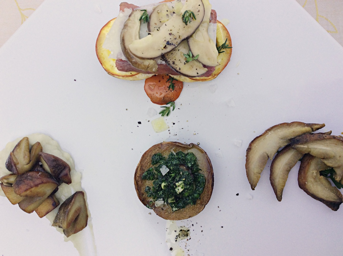 Quartetto di funghi
